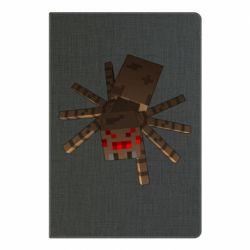 Блокнот А5 Spider from Minecraft