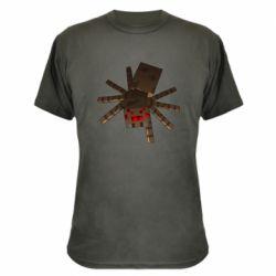 Камуфляжная футболка Spider from Minecraft