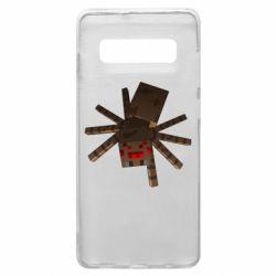 Чехол для Samsung S10+ Spider from Minecraft