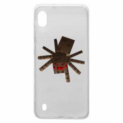 Чехол для Samsung A10 Spider from Minecraft