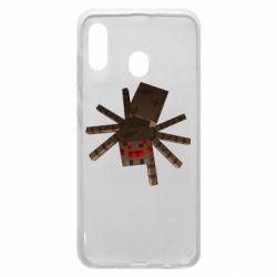 Чохол для Samsung A20 Spider from Minecraft