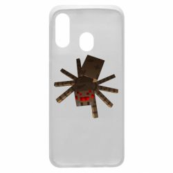 Чехол для Samsung A40 Spider from Minecraft