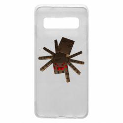 Чехол для Samsung S10 Spider from Minecraft