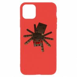 Чехол для iPhone 11 Spider from Minecraft