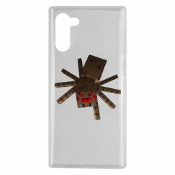Чехол для Samsung Note 10 Spider from Minecraft