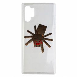 Чехол для Samsung Note 10 Plus Spider from Minecraft