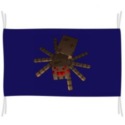 Прапор Spider from Minecraft