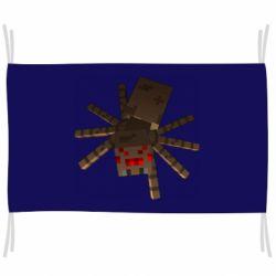 Флаг Spider from Minecraft