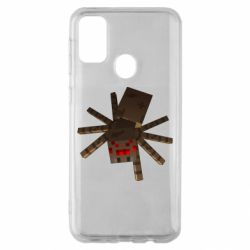 Чехол для Samsung M30s Spider from Minecraft