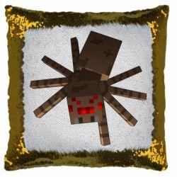 Подушка-хамелеон Spider from Minecraft