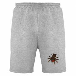 Мужские шорты Spider from Minecraft