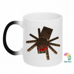 Кружка-хамелеон Spider from Minecraft