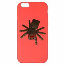 Чехол для iPhone 6 Plus/6S Plus Spider from Minecraft