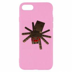 Чехол для iPhone 7 Spider from Minecraft