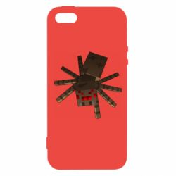 Чохол для iphone 5/5S/SE Spider from Minecraft
