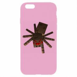 Чехол для iPhone 6/6S Spider from Minecraft