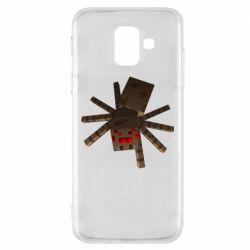Чехол для Samsung A6 2018 Spider from Minecraft