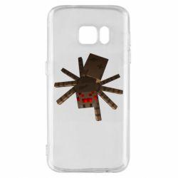 Чехол для Samsung S7 Spider from Minecraft