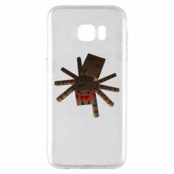 Чехол для Samsung S7 EDGE Spider from Minecraft