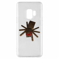 Чехол для Samsung S9 Spider from Minecraft