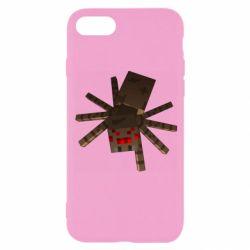 Чехол для iPhone 8 Spider from Minecraft