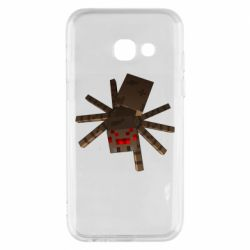 Чехол для Samsung A3 2017 Spider from Minecraft