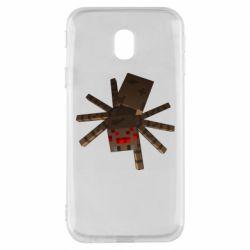 Чехол для Samsung J3 2017 Spider from Minecraft