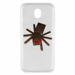 Чехол для Samsung J5 2017 Spider from Minecraft
