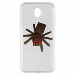 Чехол для Samsung J7 2017 Spider from Minecraft