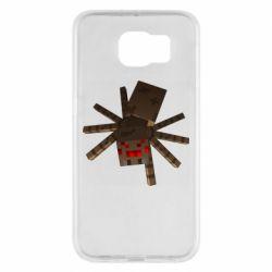 Чехол для Samsung S6 Spider from Minecraft