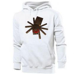 Мужская толстовка Spider from Minecraft
