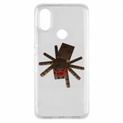 Чехол для Xiaomi Mi A2 Spider from Minecraft