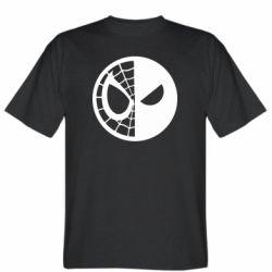 Мужская футболка Spider Man and Deadpool