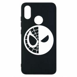 Чехол для Xiaomi Mi8 Spider Man and Deadpool