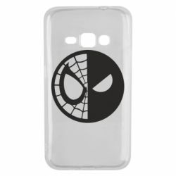 Чохол для Samsung J1 2016 Spider Man and Deadpool