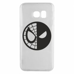 Чохол для Samsung S6 EDGE Spider Man and Deadpool