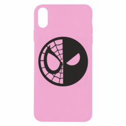 Чохол для iPhone Xs Max Spider Man and Deadpool