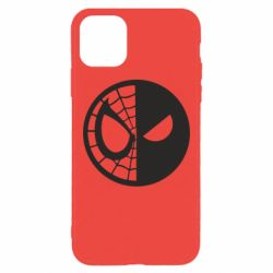 Чохол для iPhone 11 Pro Max Spider Man and Deadpool