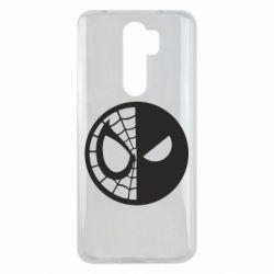 Чехол для Xiaomi Redmi Note 8 Pro Spider Man and Deadpool