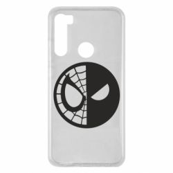 Чехол для Xiaomi Redmi Note 8 Spider Man and Deadpool