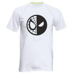 Мужская спортивная футболка Spider Man and Deadpool