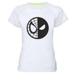 Женская спортивная футболка Spider Man and Deadpool