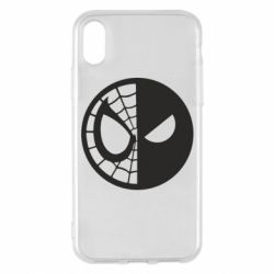 Чохол для iPhone X/Xs Spider Man and Deadpool