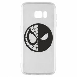 Чохол для Samsung S7 EDGE Spider Man and Deadpool