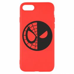 Чохол для iPhone 8 Spider Man and Deadpool