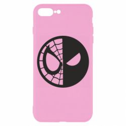 Чохол для iPhone 8 Plus Spider Man and Deadpool