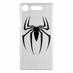 Чехол для Sony Xperia XZ1 Spider Man Logo - FatLine