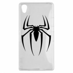 Чехол для Sony Xperia Z1 Spider Man Logo - FatLine