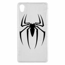 Чехол для Sony Xperia Z2 Spider Man Logo - FatLine