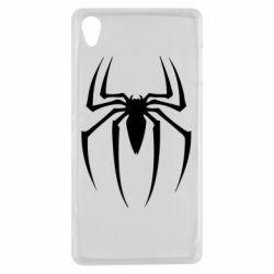 Чехол для Sony Xperia Z3 Spider Man Logo - FatLine